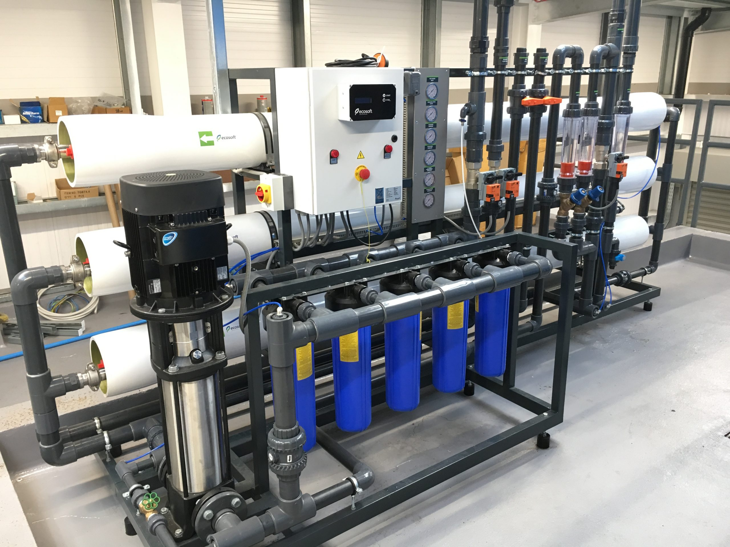 Commercial water treatment solutions